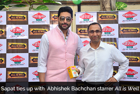 Sapat ties up with Abhishek Bachchan starrer All is Well