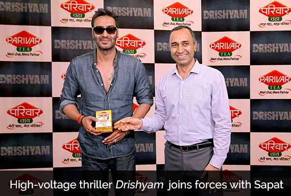 High-voltage thriller Drishyam  joins forces with Sapat